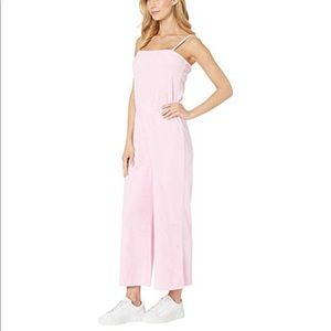 PINK MICROTERRY TANK JUMPSUIT